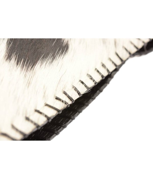 HV Society Hairy clutch black-white dames van Hv society