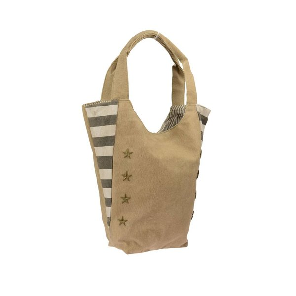 Canvas tote star