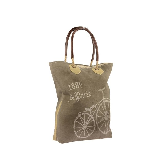 Canvas tote paris streeter