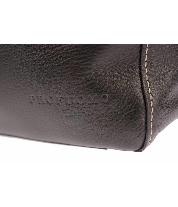 Profuomo business bag zwart heren