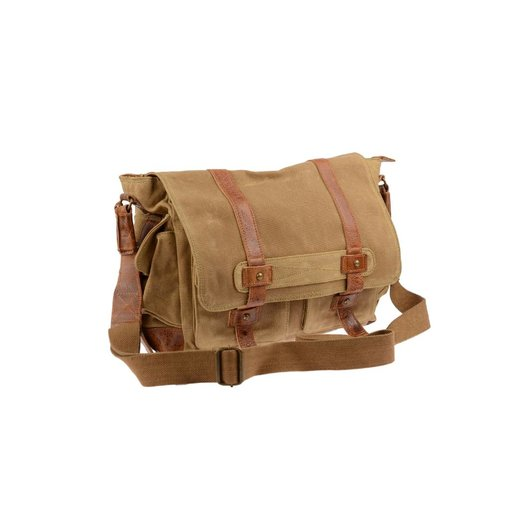 GreenBurry White Spirit Heavy Duty Messenger schoudertas