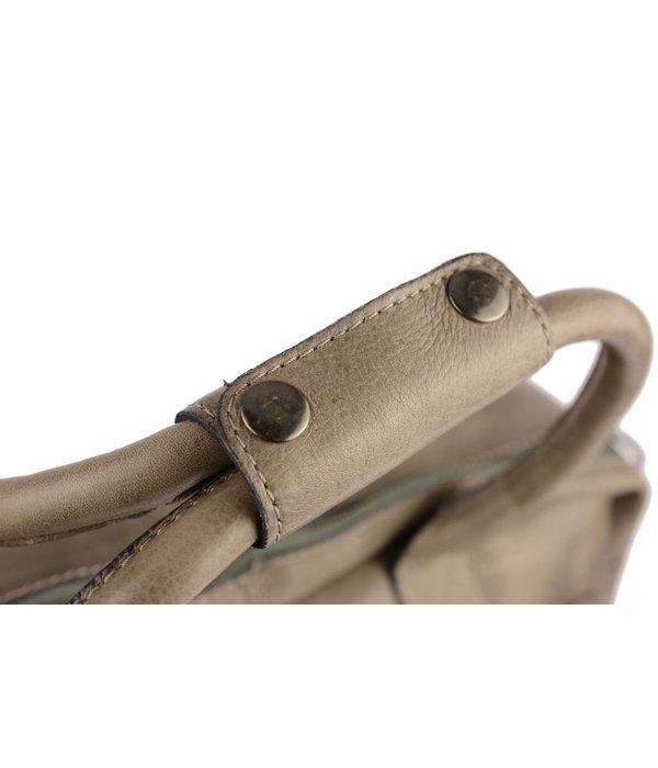 Burkely Westernbag Mid Size Grey schoudertas