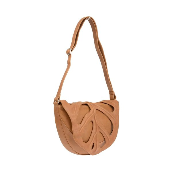 Jungle Leaf tas cognac