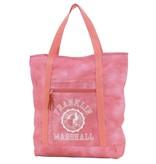 Franklin & Marshall hippe roze shopper met witte letters