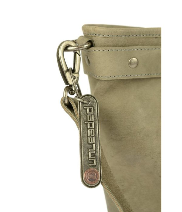 Unleaded Luxe Calgory handtas in grijze kleur