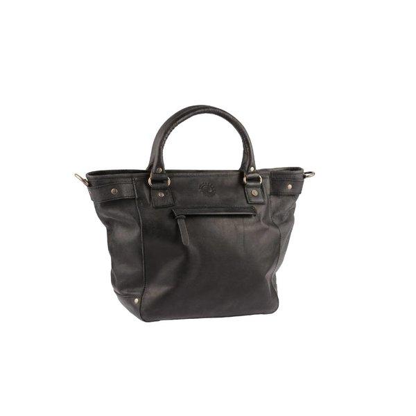 Luxe zwarte Calgory handtas