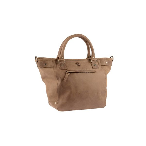 Luxe taupe Calgory handtas