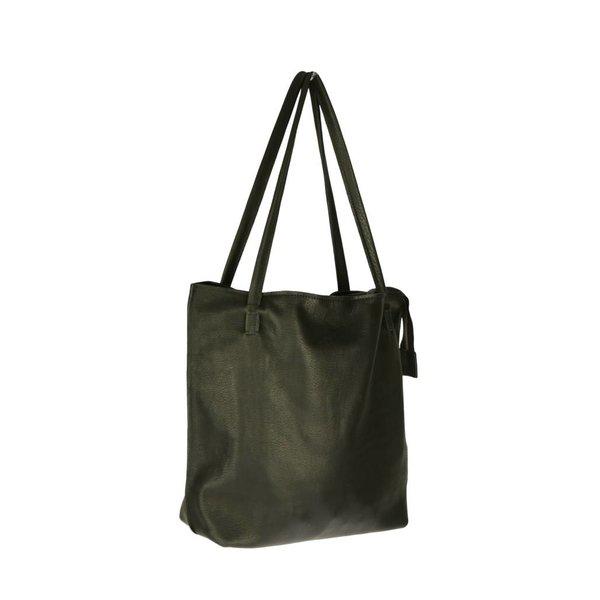 Luxe, simpele zwarte Malibu schoudertas