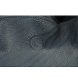 Unleaded Luxe, simpele Malibu schoudertas in navy kleur