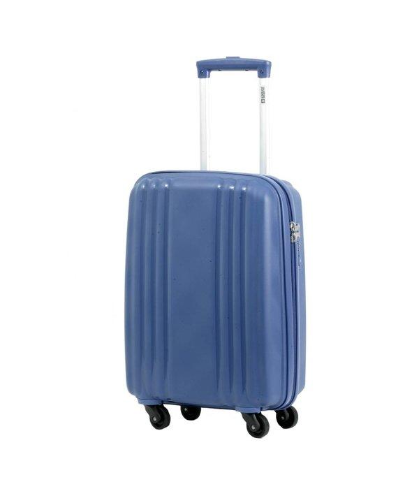 Enrico Benetti Kobalt handbagage koffer met 4 wielen