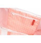Björn Borg grote roze hippe beachbag met raster