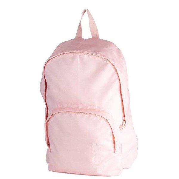 stoere lichtroze backpack Core met laptop vak