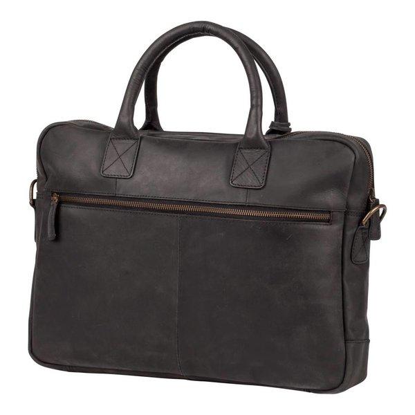 luxe zwarte laptoptas Filippa 15 inch