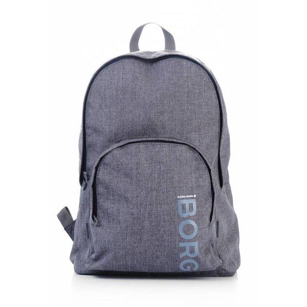 stoere grijze backpack Core met laptop vak