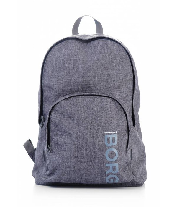 Björn Borg stoere grijze backpack Core met laptop vak