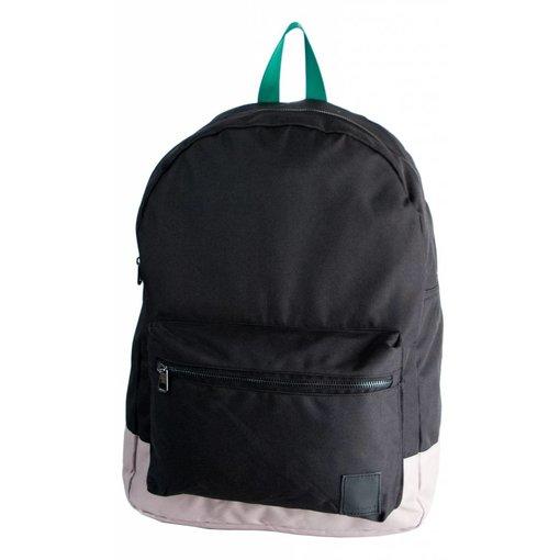 Björn Borg stoere zwarte backpack Charlies Angels met groene details