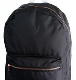 Björn Borg stoere zwarte backpack met bronzen details