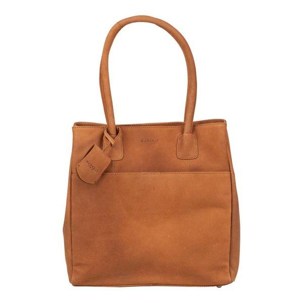 luxe sisal Lena shopper met voorvak