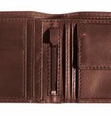 Camel Active stoere bruine billfold portemonnee Salamanca groot