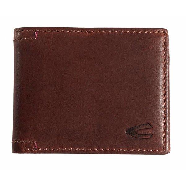 stoere bruine billfold portemonnee Salamanca klein