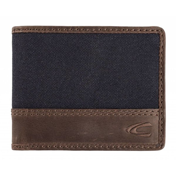 stoere zwarte billfold portemonnee Colorado klein