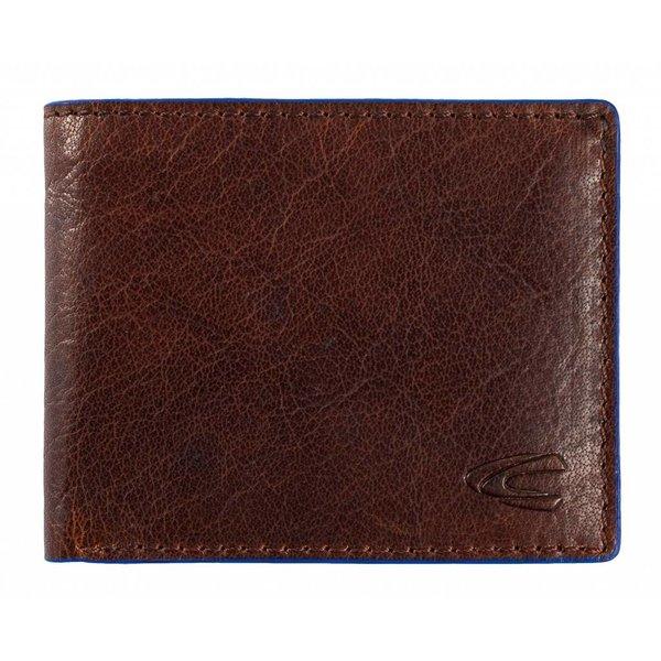 luxe bruine billfold portemonnee Alaska klein