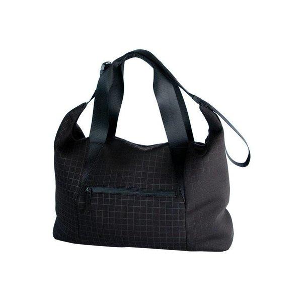 stoere zwarte Jill Sportsbag