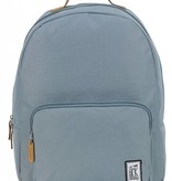 The Pack Society hippe grijze classic backpack met lichtbruine details