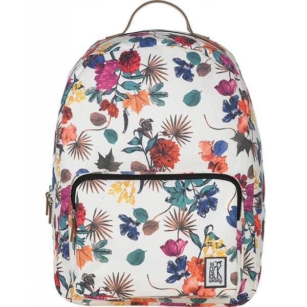 hippe multicolor floral classic backpack