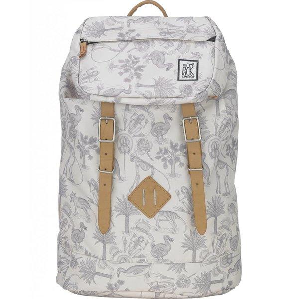 hippe grijze Fossiel premium backpack