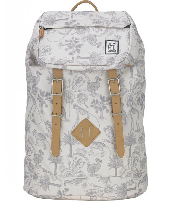 The Pack Society hippe grijze Fossiel premium backpack