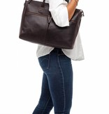 Burkely Valerie Laptop Bag - Bruin