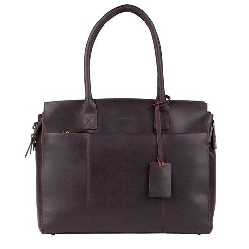 Burkely Doris Laptop Bag - Bruin