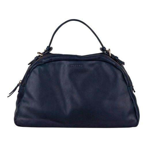 Burkely Melany Handbag M - Atlantic Blue