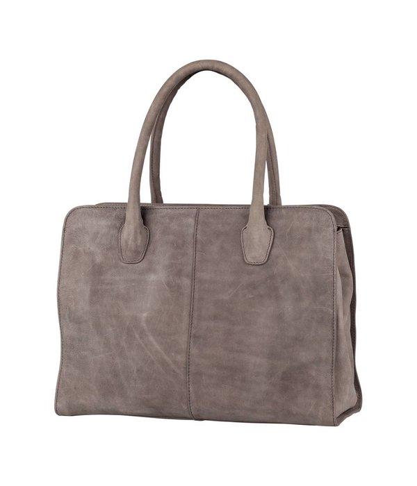 Burkely Stacey Star Handbag M - Licht Grijs