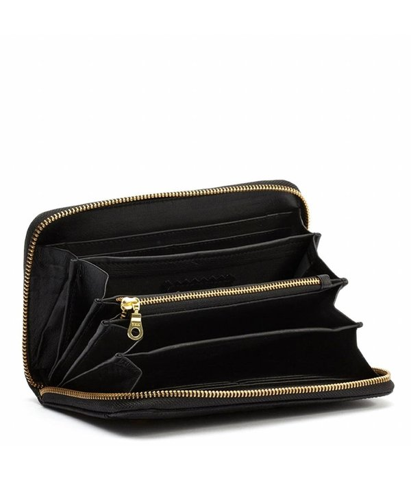 Fabienne Chapot Romy purse gold - Zwart