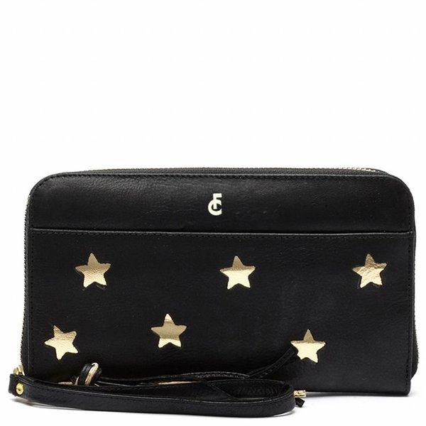 Romy purse gold - Zwart