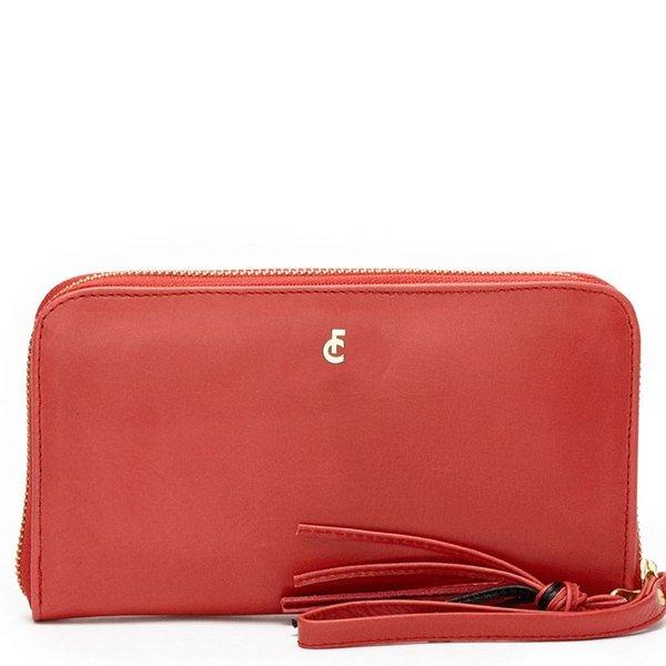 FC logo purse Bright red