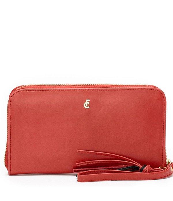 Fabienne Chapot FC logo purse Bright red
