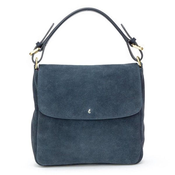Pauline Bag suede - Donker blauw (Night Sky)