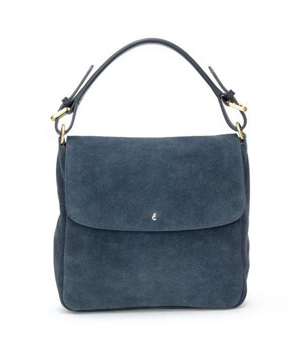 Fabienne Chapot Pauline Bag suede - Donker blauw (Night Sky)