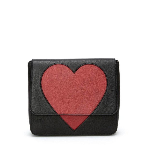 L'amour bag PDM Bright red - Zwart