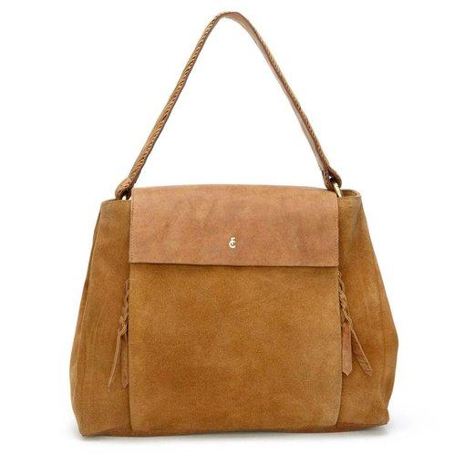 Fabienne Chapot Garance Bag Indian Brown Suede