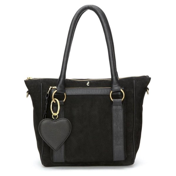 Cecile bag suede - Black