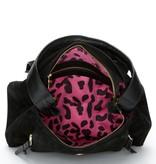Fabienne Chapot Cecile bag suede - Black