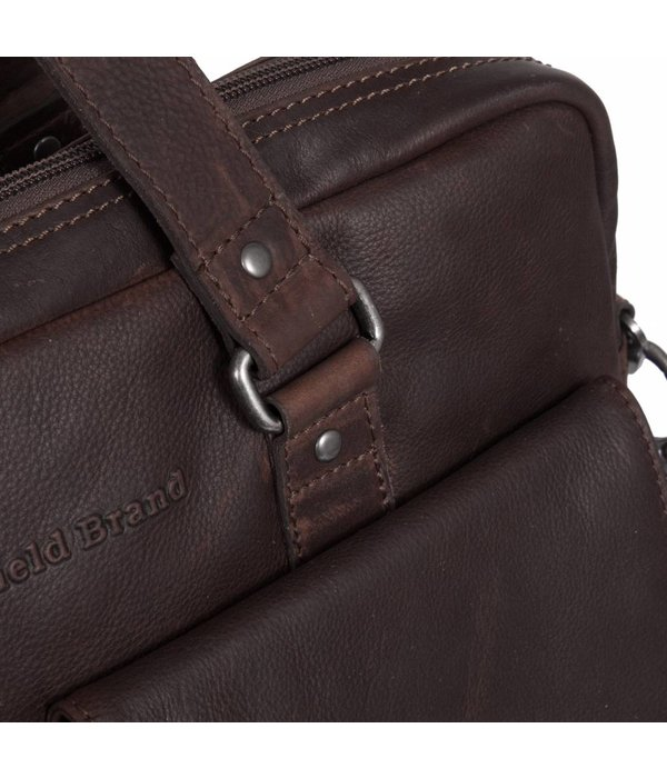 The Chesterfield Brand Shoulderbag George - Bruin