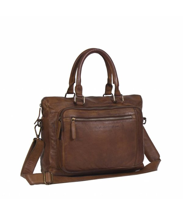 The Chesterfield Brand Laptopbag Black Label - Cognac