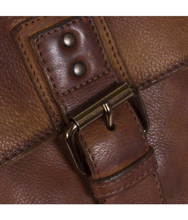 The Chesterfield Brand Shoulderbag Black Label - Cognac
