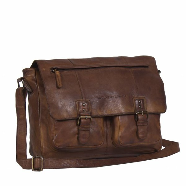 Shoulderbag Black Label - Cognac