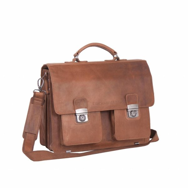 Shoulderbag George - Cognac